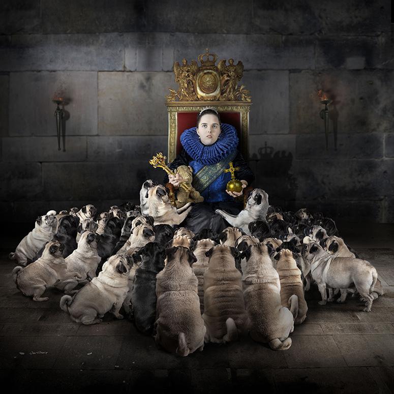 Jan Gerber - koningsstoel